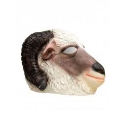 Latex Maske - Widder Ram