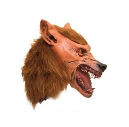Latex Maske - Wolf