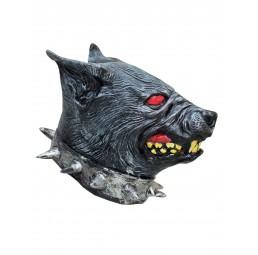 Latex Maske - Wolf mit...