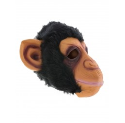 Latex Maske - Affe Monkey