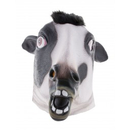 Latex Maske - Kuh Cow