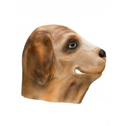 Latex Maske - Hund Dog