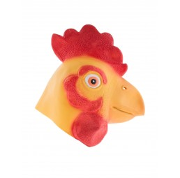 Latex Maske - Hahn Rooster