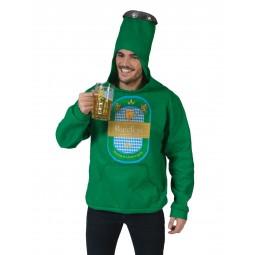 Bier Flasche Overall Kostüm...