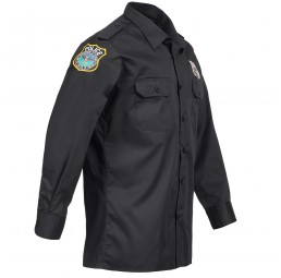 Polizei Hemd Uniform Kostüm