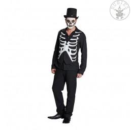 Skelett Weste für Erwachsene