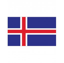 Flagge Island Iceland IS -...