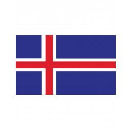 Flagge Island Iceland IS -...