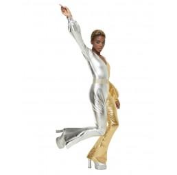 70s Super Chic Kostüm, Gold...