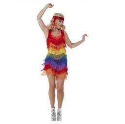 Rainbow Pride 20s Flapper...
