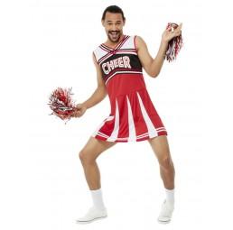 Cheerleader Kostüm (Weiß /...