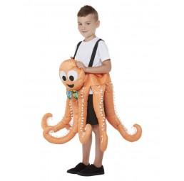 Aufsitz Oktopus Kostüm für...