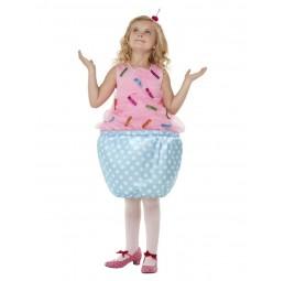 Pinkes Cupcake Kostüm für...