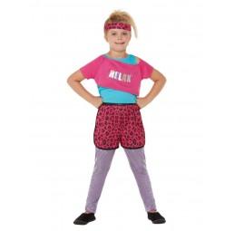80er Relax Kostüm in Pink