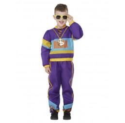 80er Relax Kostüm, Violett