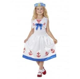 Marine Kostüm für Mädchen