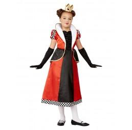 Rotes Queen of Hearts Kostüm