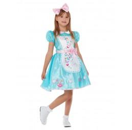 Blaues Wonderland Kostüm