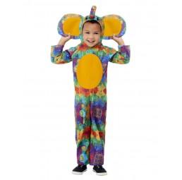 Bunter Elefant Kostüm...