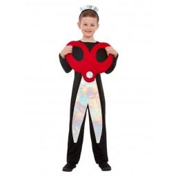 Scheren Kostüm Rot-Schwarz