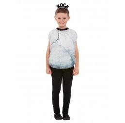 Graues Stein Kostüm für Kinder