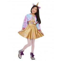 Goldenes Kittycorn Kostüm