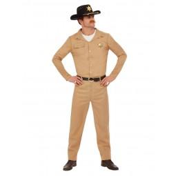 80er Jahre Sheriff Kostüm