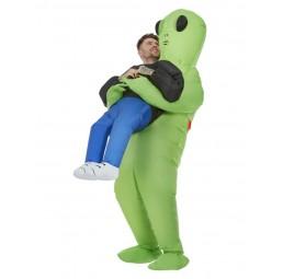 Aufblasbares Alien Kostüm