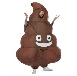 Aufblasbares Poop Kostüm