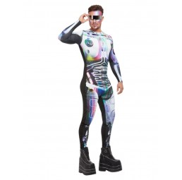Cyber Space Alien Kostüm