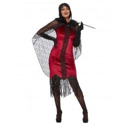 Deluxe Vampire Klappen Kostüm