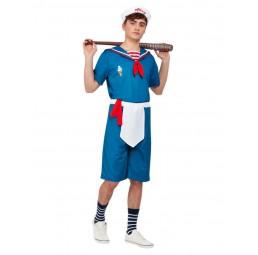 Blaues Ice Cream Sailor Kostüm