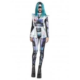 Metallic Space Alien Kostüm