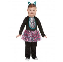 Süße Katze Kostüm für Mädchen