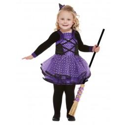 Hexen Kostüm mit kleinen...