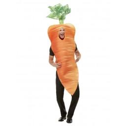 Orangene Karotte Kostüm