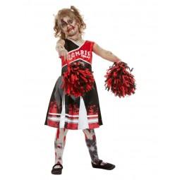 Rotes Zombie Cheerleader...