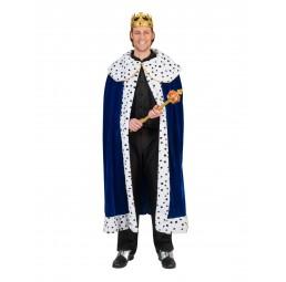 König Cape Umhang Kostüm...