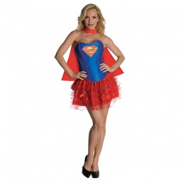 Supergirl Corset Dress