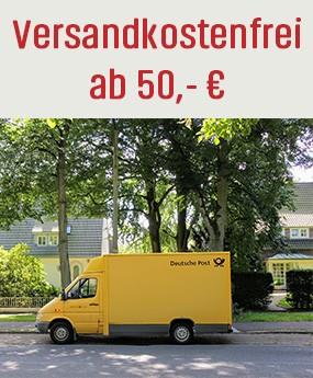 Versandkostenfrei ab 50 €